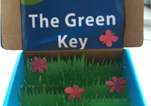 Green Key on Bagsvaed Scholl